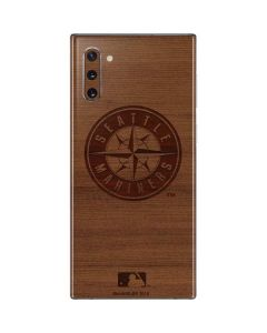 Seattle Mariners Engraved Galaxy Note 10 Skin