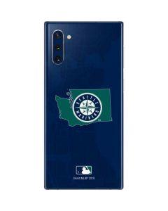 Seattle Mariners Home Turf Galaxy Note 10 Skin
