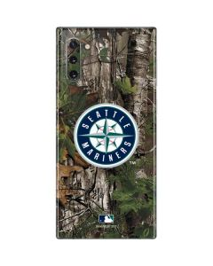 Seattle Mariners Realtree Xtra Green Camo Galaxy Note 10 Skin