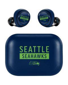 Seattle Seahawks Blue Performance Series Amazon Echo Buds Skin