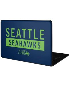 Seattle Seahawks Blue Performance Series Google Pixelbook Go Skin