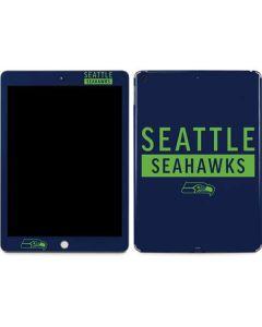 Seattle Seahawks Blue Performance Series Apple iPad Skin