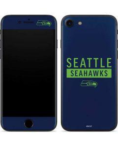 Seattle Seahawks Blue Performance Series iPhone SE Skin