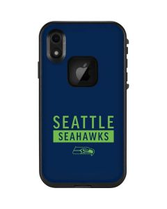 Seattle Seahawks Blue Performance Series LifeProof Fre iPhone Skin