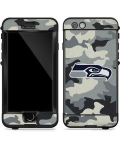 Seattle Seahawks Camo LifeProof Nuud iPhone Skin