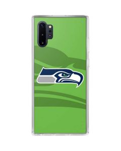 Seattle Seahawks Double Vision Galaxy Note 10 Plus Clear Case