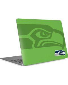 Seattle Seahawks Double Vision Apple MacBook Air Skin