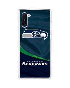 Seattle Seahawks Galaxy Note 10 Clear Case