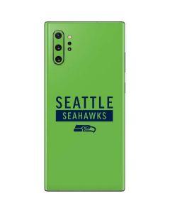 Seattle Seahawks Green Performance Series Galaxy Note 10 Plus Skin