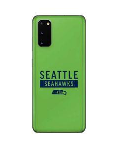 Seattle Seahawks Green Performance Series Galaxy S20 Skin