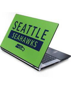 Seattle Seahawks Green Performance Series Generic Laptop Skin