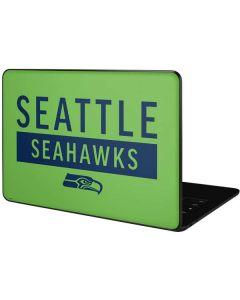 Seattle Seahawks Green Performance Series Google Pixelbook Go Skin