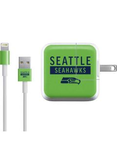 Seattle Seahawks Green Performance Series iPad Charger (10W USB) Skin