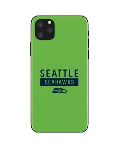 Seattle Seahawks Green Performance Series iPhone 11 Pro Max Skin