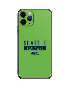 Seattle Seahawks Green Performance Series iPhone 11 Pro Skin