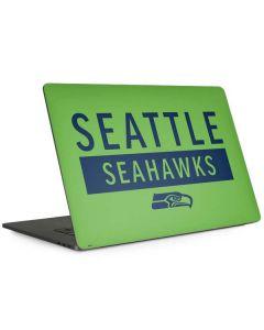 Seattle Seahawks Green Performance Series Apple MacBook Pro 15-inch Skin