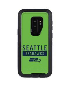 Seattle Seahawks Green Performance Series Otterbox Defender Galaxy Skin