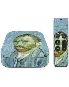 Van Gogh Self-portrait Apple TV Skin