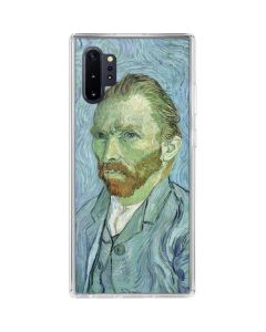 Van Gogh Self-portrait Galaxy Note 10 Plus Clear Case