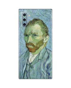Van Gogh Self-portrait Galaxy Note 10 Skin
