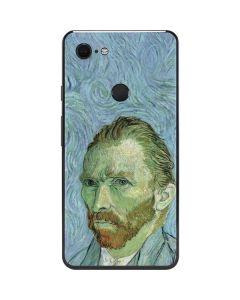 Van Gogh Self-portrait Google Pixel 3 XL Skin