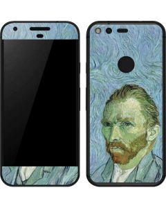 Van Gogh Self-portrait Google Pixel Skin