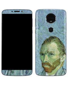 Van Gogh Self-portrait Moto E5 Plus Skin