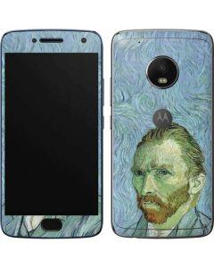 Van Gogh Self-portrait Moto G5 Plus Skin