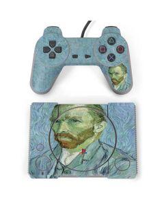 Van Gogh Self-portrait PlayStation Classic Bundle Skin