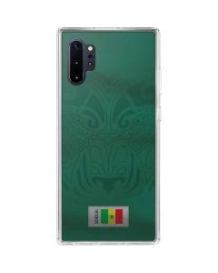 Senegal Soccer Flag Galaxy Note 10 Plus Clear Case