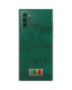 Senegal Soccer Flag Galaxy Note 10 Plus Skin