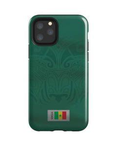 Senegal Soccer Flag iPhone 11 Pro Impact Case