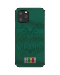 Senegal Soccer Flag iPhone 11 Pro Skin