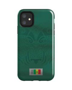 Senegal Soccer Flag iPhone 11 Impact Case