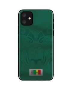 Senegal Soccer Flag iPhone 11 Skin