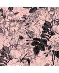 Rose Quartz Floral Generic Laptop Skin