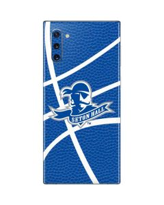 Seton Hall Zoomed Basketball Galaxy Note 10 Skin