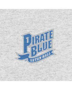 White Seton Hall Pirate Blue Apple TV Skin