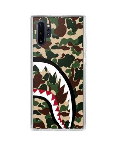 Shark Teeth Street Camo Galaxy Note 10 Plus Clear Case