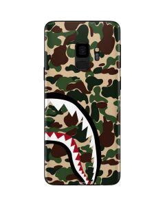 Shark Teeth Street Camo Galaxy S9 Skin