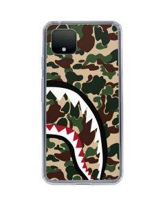 Shark Teeth Street Camo Google Pixel 4 Clear Case