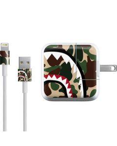 Shark Teeth Street Camo iPad Charger (10W USB) Skin