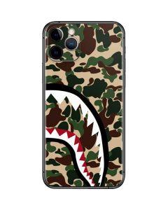 Shark Teeth Street Camo iPhone 11 Pro Skin