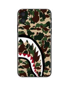 Shark Teeth Street Camo iPhone 11 Skin