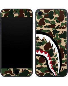 Shark Teeth Street Camo iPhone SE Skin
