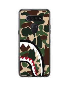 Shark Teeth Street Camo LG K51/Q51 Clear Case