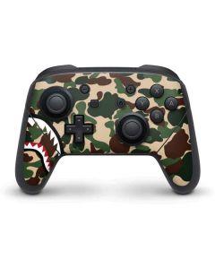 Shark Teeth Street Camo Nintendo Switch Pro Controller Skin