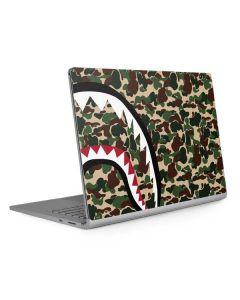 Shark Teeth Street Camo Surface Book 2 13.5in Skin