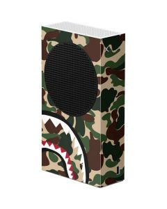 Shark Teeth Street Camo Xbox Series S Console Skin