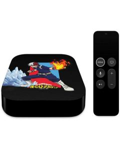 Shoto Todoroki Apple TV Skin